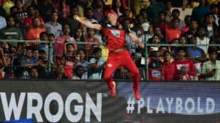 Watch AB de Villiers' 'Spider-Man' effort replicated by local boy