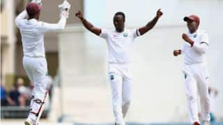 West Indies vs England 2015 Live Cricket Score, 1st Test at Antigua Day 3