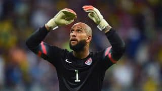 Goalkeeper Howard sets a new World Cup record