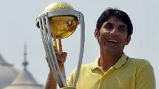 Misbah-ul-Haq feels Pakistan will stay positive for World Cup despite Saeed Ajmal, Mohammad Hafeez bans
