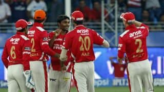 Kings XI Punjab bowlers stifle Kolkata Knight Riders in IPL 2014