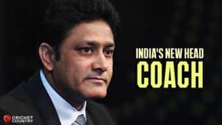 Anil Kumble appointed Indian cricket team's head coach