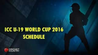 ICC Under-19 World Cup 2016 Schedule: Match fixtures and time table with ground details
