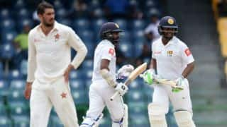 Dickwella, Gunaratne steer SL to victory on Day 5 of ZIM Test at Colombo