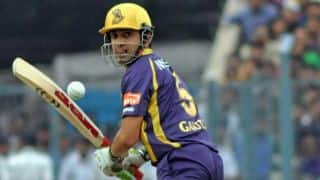 Kolkata Knight Riders in a spot of bother against Rajasthan Royals in IPL 2014