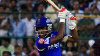 Rajasthan recover after early loss
