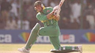 South Africa defend third lowest ODI score ever against beleaguered England in 1996
