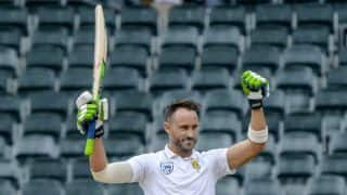 South Africa 344 for 6 at Tea, Australia need 612 to win