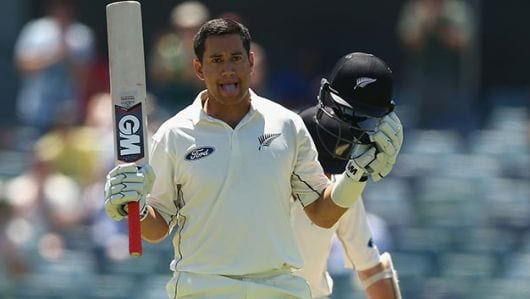 Taylor becomes 2nd highest century maker for NZ in Tests