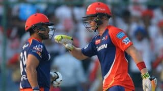 Karun Nair, Sam Billings fifties guides Delhi Daredevils to 186 for 8 against Kolkata Knight Riders, IPL 2016 at Delhi