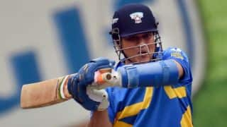Sachin Tendulkar, Sourav Ganguly score half-centuries as Sachin's Blasters score 219/5 in 3rd T20 at Los Angeles