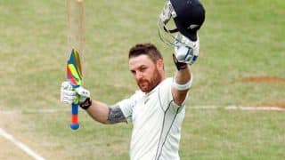 Brendon McCullum's 195 propels New Zealand to 429 for 7 vs Sri Lanka on Day 1 of 1st Test at Christchurch