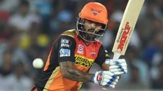 IPL 2016: Shikhar Dhawan praises David Warner for easing pressure on him