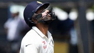 Rohit Sharma steers India to lead of 243 at lunch on fourth day of 3rd Test against Sri Lanka in Colombo