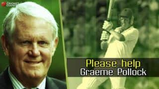 Please help Graeme Pollock, cricket boards and franchises of the world