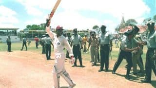 Brian Lara moves past Garry Sobers to become the highest scorer in Test history
