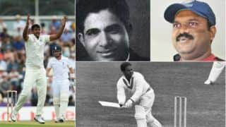 Pankaj Singh and other Test cricketers from Rajasthan