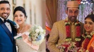 Photos: Robin Uthappa gets married to Sheetal Gautam, Dhawal Kulkarni to Shradha Kharpude