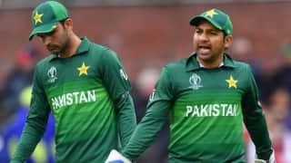Fielding let Pakistan down against Australia, says captain Sarfraz Ahmed