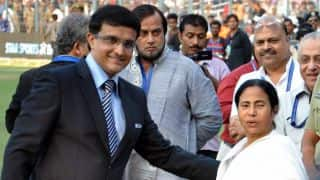 Sourav Ganguly congratulates Mamata Banerjee for winning West Bengal elections 2016