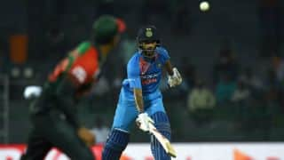 Highlights, India vs Bangladesh 2018, 5th T20I, Nidahas Trophy at Colombo: Rohit Sharma, Washington Sundar powers India to tournament final