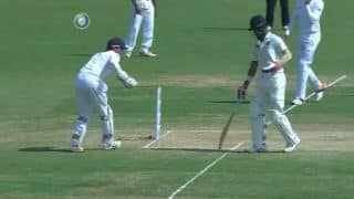 Jonny Bairstow faces tough time behind the wickets on Day 3 of 5th Test between India and England