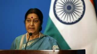 India-Pakistan cricket series unlikely in near future, says Sushma Swaraj