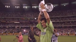 Imran khan is the captain who has done magic on the cricket field