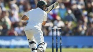 Joe Burns first overseas fifty steers Australia to 151 for 2 at lunch on Day 2