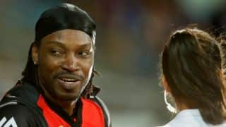 Renegades may re-sign Gayle despite 'Dont blush, Baby' incident