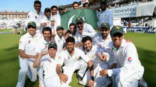 Pakistan dethrone India to become No. 1 team in Test cricket