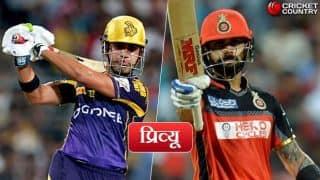 केकेआर बनाम रॉयल चैलेंजर्स बैंगलोर(प्रिव्यू): विराट कोहली की टीम को जीत से कम कुछ भी मंजूर नहीं