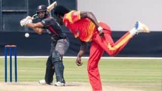 यूएई को तीन विकेट से हरा जिम्बाब्वे ने वनडे सीरीज में किया क्लीनस्वीप