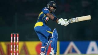 Pakistan vs Sri Lanka, Asia Cup 2014: Saeed Ajmal gets Kusal Perera and Kumar Sangakkara