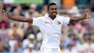 2nd Test: Australia build lead but lose three to Sri Lankan quicks
