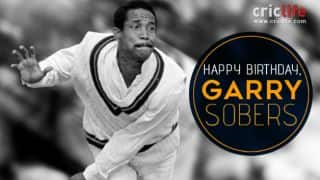 Happy Birthday Garry Sobers, batsman who hit 6 sixes in 6 balls for the first time