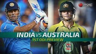 India vs Australia 2015-16, 1st ODI at Perth, Preview: MS Dhoni and co. aim for winning start
