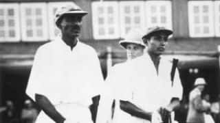 The first-ever Test match on Indian soil