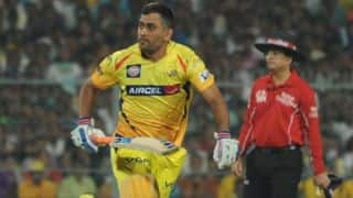 Chennai Super Kings beat Royal Bhallengers Bangalore by 8 wickets in IPL 2014