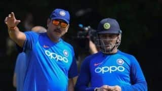 Last thing you wanted was Dhoni coming out to bat early and getting out: Ravi Shastri