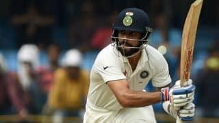 कप्तान के रूप में भारतीय सरजमीं पर विराट कोहली का पहला शतक