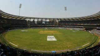 Wankhede gates to be named after BJP figures