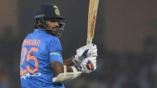 India vs West Indies, 2nd T20I: Shikhar Dhawan sixth Indian to score over 1000 T20I runs