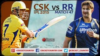 Chennai Super Kings vs Rajasthan Royals IPL 2015 Match 47 Preview: Both teams desperate for win