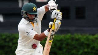 Pakistan trail Sri Lanka by 79 runs at lunch on Day 4 of 1st Test