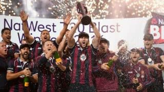 Josh Cobb prevails over pain hurdle as Northants clinch Natwest T20 Blast title