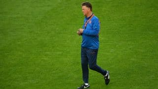 Van Gaal says Spain win doesn't mean championship