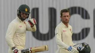 Zimbabwe 76-2 at stumps in second Bangladesh Test
