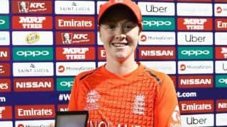 ICC Women's World T20: England beat Bangladesh in the rain to top Group A