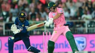 South Africa vs Sri Lanka 3rd ODI: Pink wave, bees stopping play, butter fingers and other highlights
